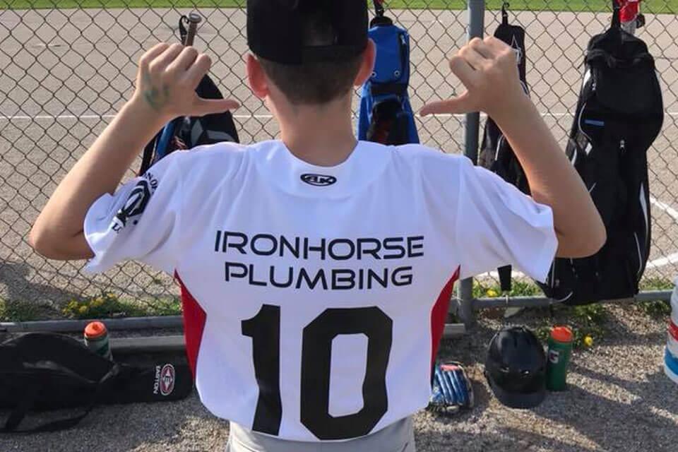 iron horse plumbing london ontario baseball shirt plumbing services