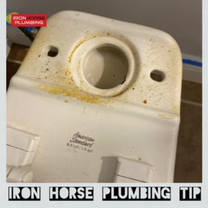 Iron Hose Plumbing Smelly Toilet Solved Plumbign Tip